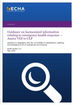 Guidance on harmonised information relating to emergency health response
