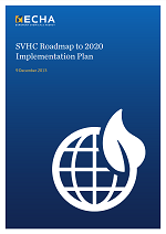 SVHC Roadmap 2020 implementation plan
